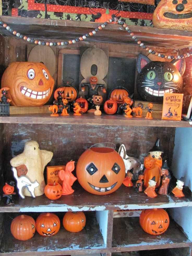 Vintage Halloween Decoration Idea